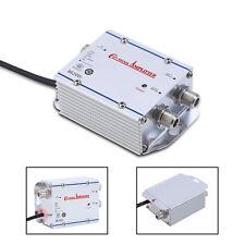 1 Pc TV 1 In 2 Out Booster HDTV Signal Amplifier Splitter Antenna 20DB CATV  LJ