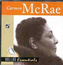 Carmen McRae - Ballad Essentials [New CD]