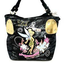 INEDIT Fée Clochette Peter Pan DISNEY Grand sac à main femme Noir NEUF