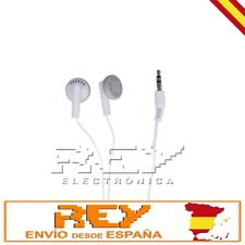 Auricular Cascos para NOKIA Audio Auriculares Jack 3.5 mm  Blanco s206