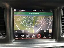 DODGE CHARGER RB5 8.4N UCONNECT GPS NAVIGATION RADIO 2011 2012 2013 2014