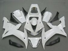 Gloss white Complete Fairing Bodywork Injection for 2002-2003 Yamaha YZF R1