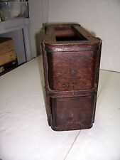VINTAGE TREADLE SEWING MACHINE DRAWERS AND FRAMES