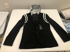 NWT $398.00 Polo Ralph Lauren Mens Performance P Wing 2 Jacket Black Size MEDIUM