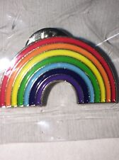 Gay Pride LBGTQ Rainbow Enamel Pin - USA shipping