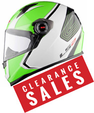 LS2 FF358 Corsa Motorcycle Motorbike full face crash helmet CLEARANCE