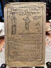 Antique Butterick Dress Pattern 1919 5017