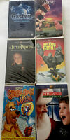 Lot of 6 Mixed VHS Tapes Universal Warner Bros. And Fox Video