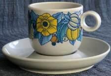 Kaffeetasse 2-teil. Rosenthal Terra Prato Blau