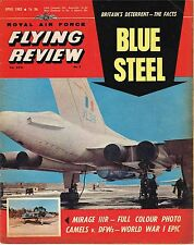 RAF FLYING REVIEW APR 63: BLUE STEEL/MIRAGE III/INDIAN AIR FORCE/KOMET CUTAWAY