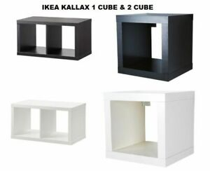 IKEA 1&2 Cube STORAGE DISPLAY KALLAX SHELVING UNIT BOOKCASE DRONA STORAGE BOXES