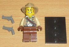 1 x Lego System Figur Mann Western Cowboy Torso bedruckt Weste Beine blau Cowboy