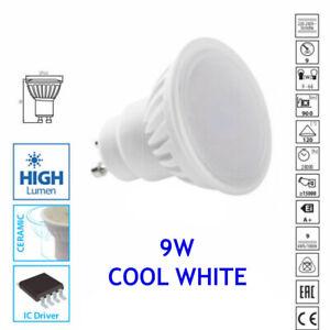 9W 900lm Lumen GU10 LED Light Bulb Downlight Lamp 6000K Cool White Energy Saving