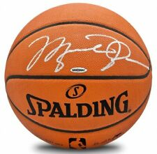MICHAEL JORDAN Autographed Chicago Bulls Authentic Spalding Basketball UDA