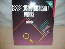 Microsoft Works on the IBM PC by Vivian Frederick and Phyllis Yasuda (1989,...
