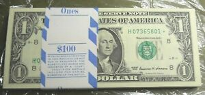 1999 $1 ST LOUIS*Star Notes* Original BEP Pack of 100 Consecutive RARE