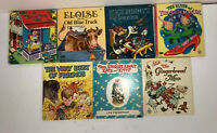 Lot of 7 Whitman Tell-A-Tale Vintage Children Books 1950's 1960's Bugs Bunny