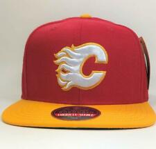 Calgary Flames Red/Yellow NHL Snapback Hat  American Needle Licensed New