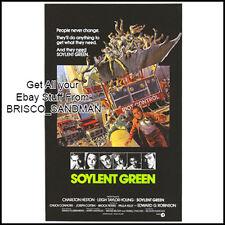 Fridge Fun Refrigerator Magnet SOYLENT GREEN MOVIE POSTER Classic 70s Retro
