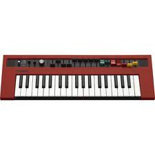 Yamaha reface YC Mobile Mini 37-key USB MIDI Keyboard Analog Modelling Synth Red
