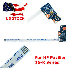 Power Switch Button Board With Ribbon Cable For HP Pavilion 15-R SERIES LS-A991P
