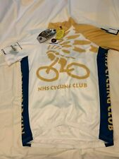 "PACTIMO Cycling Jersey Size M - 41"" - Short Sleeves - NHS Cycling Club - Napa CA"