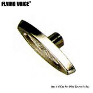 Wind Up Musical Movement Key For Music Box Winding Key Knob Handle DIY Fitting
