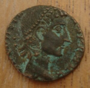 Authentic Attributed Byzantine Bronze Coin From Ihnasiyah Hoard of 6,500+ Coins