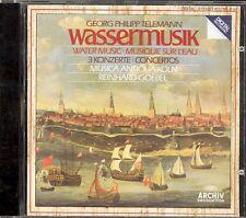 TELEMANN - Wassermusik / 3 Concertos - Reinhard GOEBEL / Musica Antiqua Koln