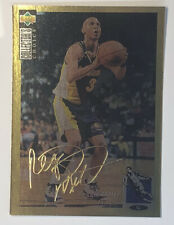 """1994-95 UD Collectors Choice Gold Signature Reggie Miller Pacers #31  """"RARE"""""""