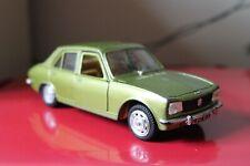 """Polistil 7"""" PEUGEOT 504GL Diecast Model LIME GREEN Car 1/26 Italy RARE S648"""