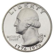 US 25 CENTS QUARTER DOLLAR WASHINGTON COIN 1976 UNC