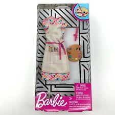 Barbie Career Fashions Clothes Outfit Artist Painter Dress Pallet Paintbrush