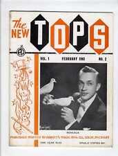 Magic Magician Magazine The New Tops Vol. 1 No. 2 February 1961