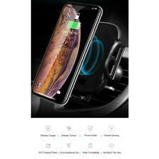 Festnight C18 Wireless Car Charger IR Sensing Charging Mount Auto-clamp 5W Qi Ch