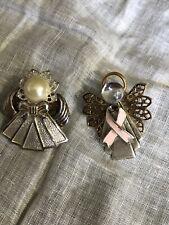 Angel Tack Pins Jewelry Yf-23 Beautiful 2 Gold & Silver Tone