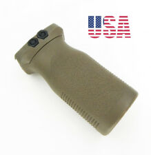 Tactical RVG Rail Vertical Grip Front Grip Forward Foregrip Picatinny Rail Brown
