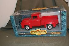 AMERICAN MUSCLE ERTL COLLECTIBLES 1956 FORD F-100 1/18