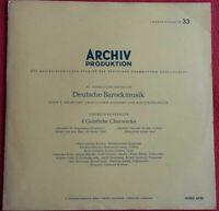 Deutsche Barockmusik / 4 Geistliche Chorwerke Dietrich Buxtehude LP Archiv 14082