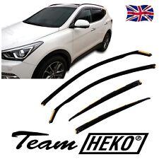 DHY17280 Hyundai Santa Fe mk3 2013-2018 viento desviadores 4pc Heko Teñido