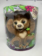 FurReal  Cubby The Curious Bear Interactive 100+ Sound & Motion Combinations New