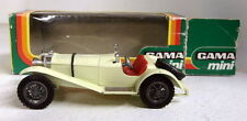 Gama 1/45 Scale 987 Mercedes Sportwagen SSK Cream Vintage diecast model car
