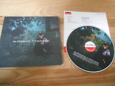 CD Pop Ms Dynamite - It Takes More (1 Song) Promo POLYDOR dp +Presskit