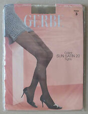 COLLANT GERBE - SUN SATIN 20 TIGHTS - RAMIER - TAILLE 3 - NEUF *