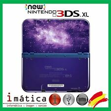 CARCASA COMPLETA PARA NEW NINTENDO 3DS XL FULL HOUSING GALAXY STYLE GALAXIA