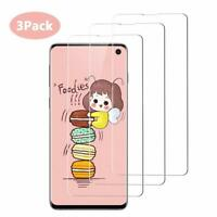 Touch Sensitive [3-Pack] TPU Film Screen Protector Case For Samsung Galaxy S10