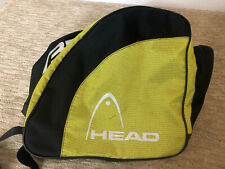 Head Cyber Yellow Black Ski Snowboarding Boots Athletic Equipment Bag