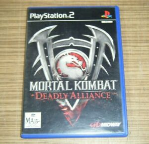 PlayStation 2 PS2 Game - Mortal Kombat: Deadly Alliance