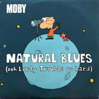 Moby CD Single Natural Blues (Ooh Lordy Trouble So Hard) - France (EX/M)