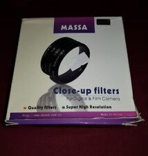 MASSA 72mm CLOSE-UP FILTER SET +1,2,4,8 NEW